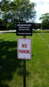 Reserved (no parking)